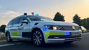 Påkørte politiet og kørte 190 km/t – mand kræves fængslet efter biljagt på Sjælland og Falster