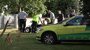 Færdselsuheld i Højby – ung dreng påkører vejtræ på ATV